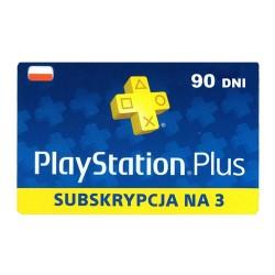 Subskrypcja PlayStation Plus na 3 miesiące