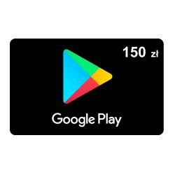 Doładowanie konta Google Play 150 zł ( kod podarunkowy )