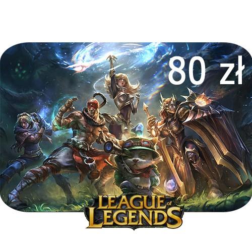 Doładowanie konta League of Legends 40 zł